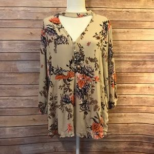 """""""Emberly"""" floral blouse"""